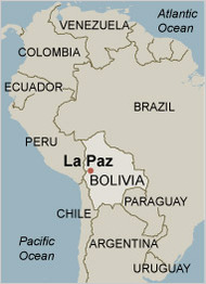 Neighbors Challenge Energy Aims In Bolivia - Map argentina neighboring countries